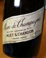 マール・ド・シャンパーニュ モエ・エ・シャンドン(Marc-de-Champagne Moet-Chandon)のラベル