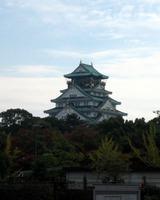 遠くから眺めた大阪城