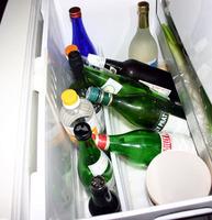 我が家の野菜室はほとんど酒ばかり