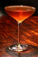ライウイスキーで作ったカクテル「マンハッタン(Manhattan)」