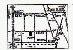 堺市鳳のベルギービール専門店「きおか」の地図