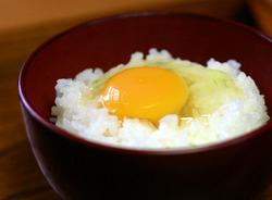 しばらく食べてなかった卵かけご飯