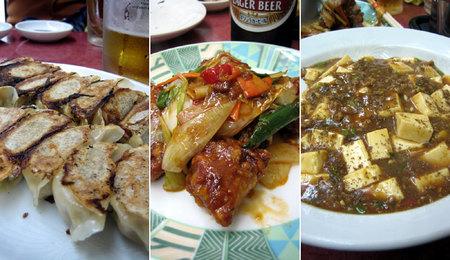 阿倍野筋の中華料理屋「大新」の料理