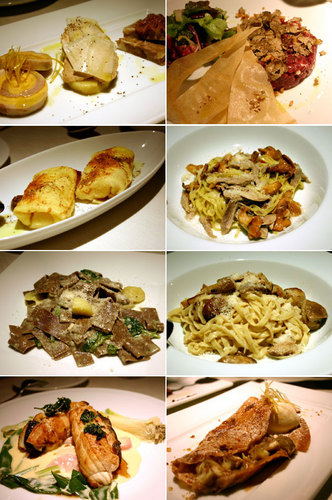 北浜のトラットリア「アルファロ」の料理