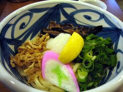 神戸の讃岐うどん屋「讃松庵」で食べたぶっかけうどん