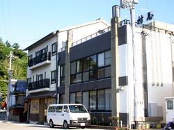 沼島の旅館「木村屋」の外観